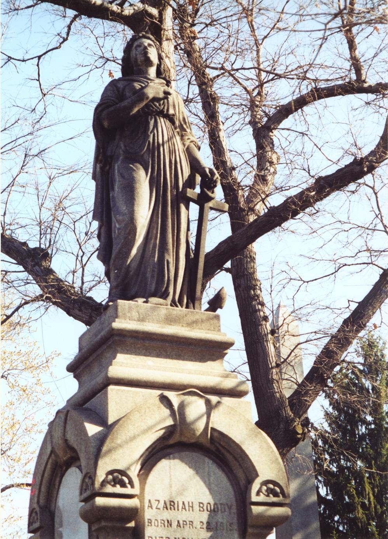 Gravestone of Azariah Boody
