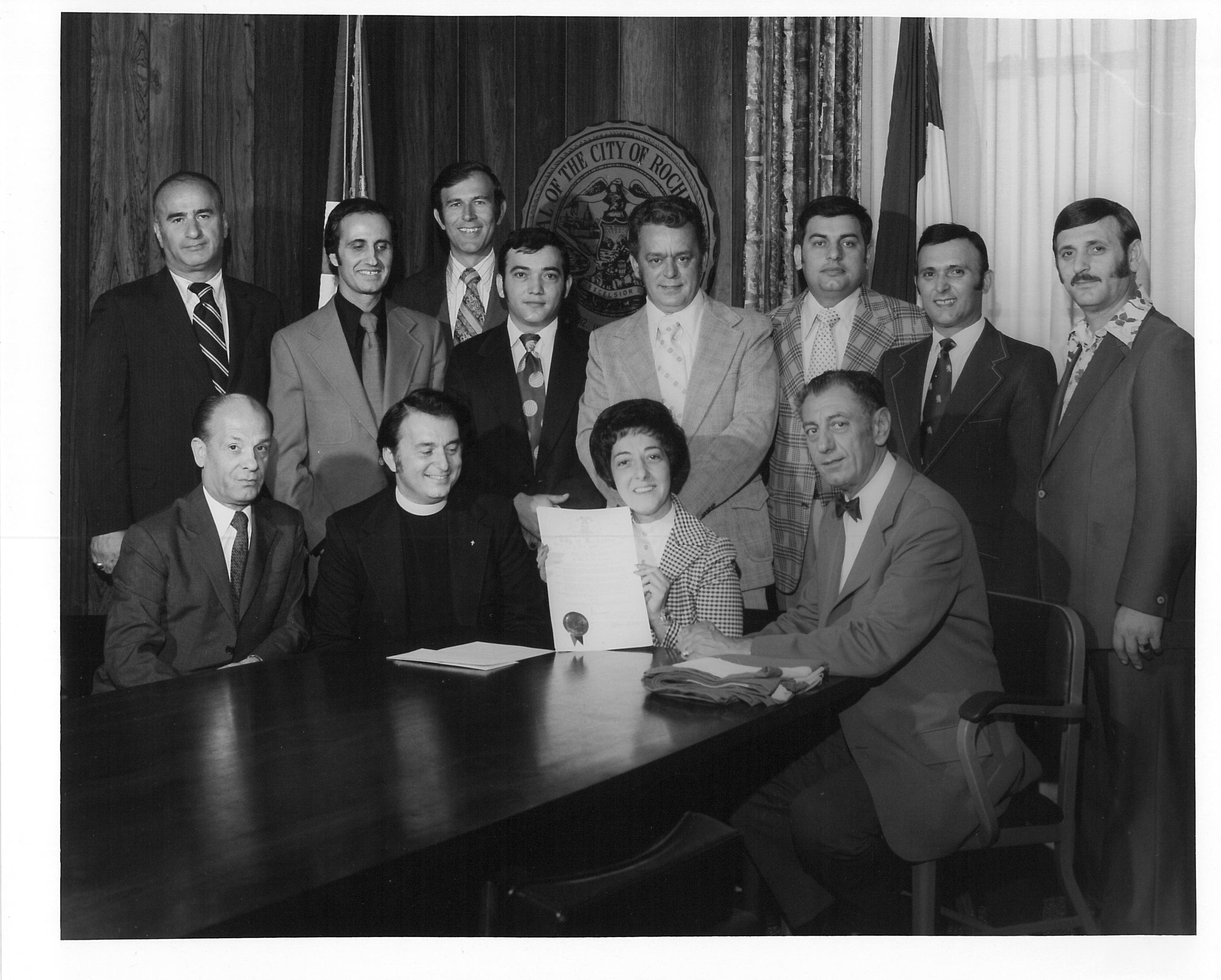 Photograph of Rochester City Council