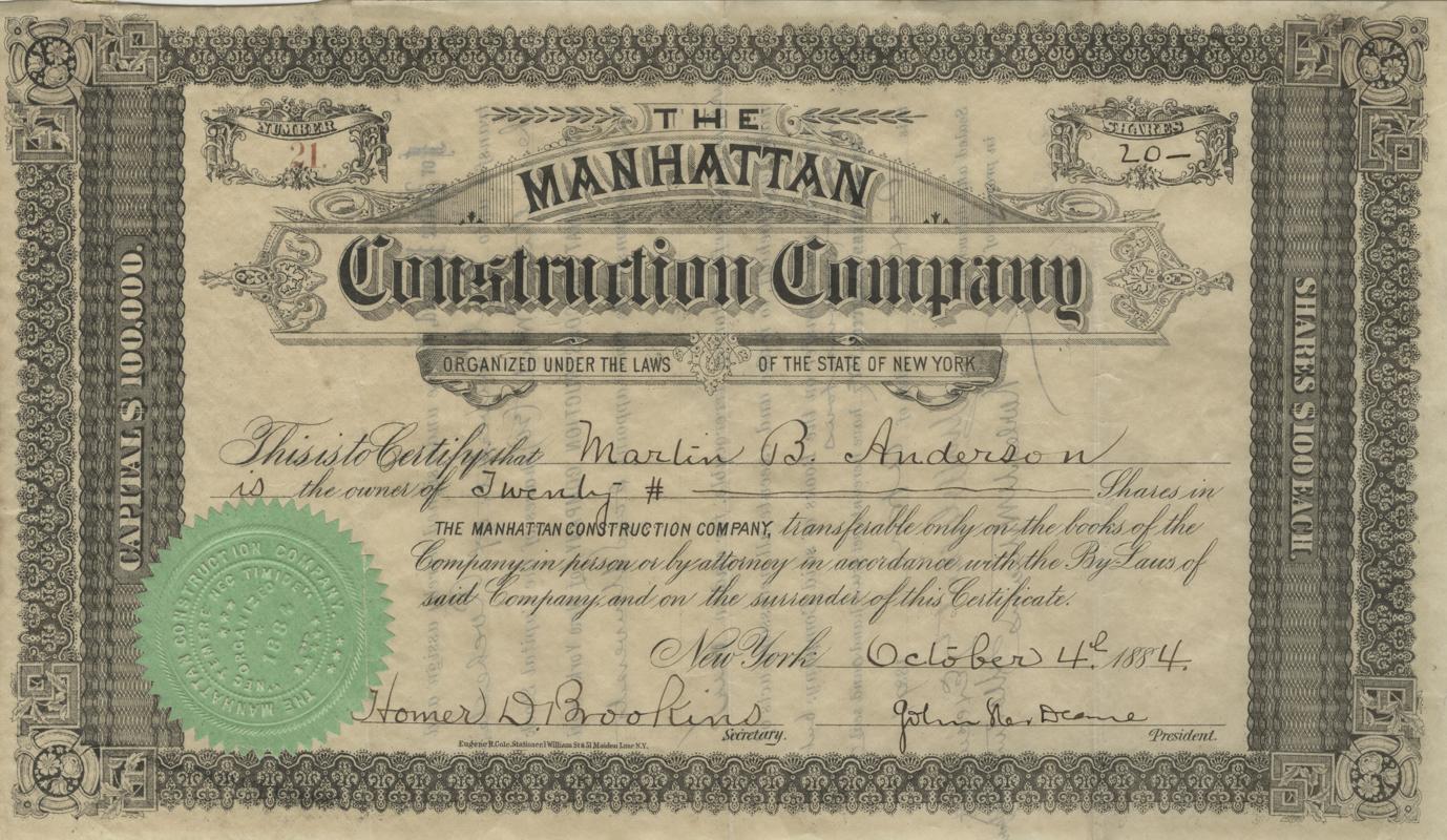 Manhattan Construction Corporation