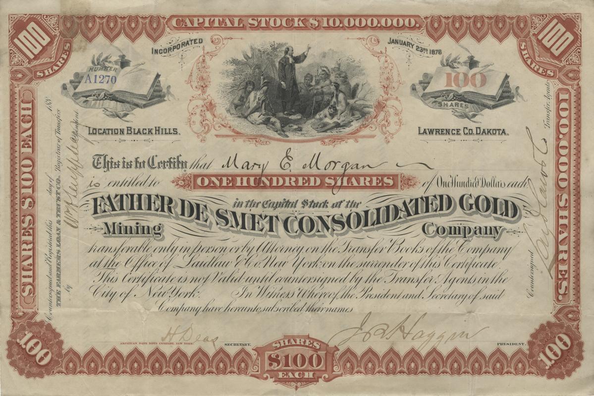 De Smet Gold Company