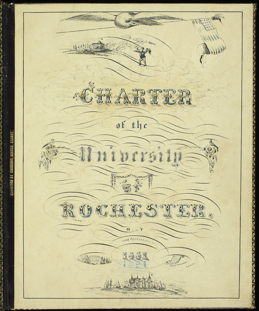 Title page of the charter