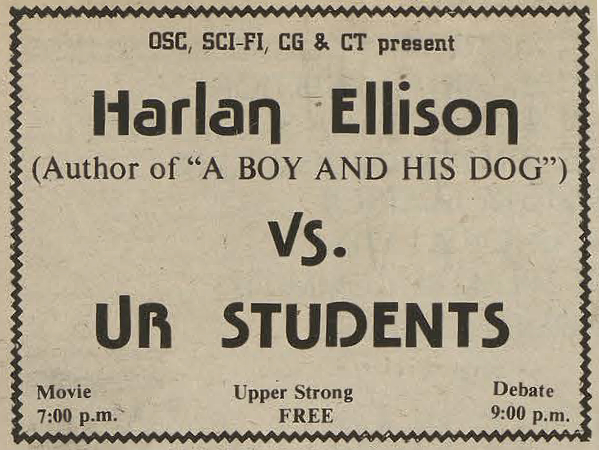 ad in CT for Ellison debate